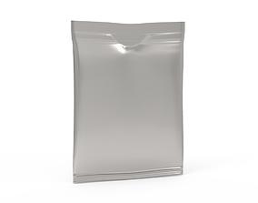3D asset low-poly Plastic Bag