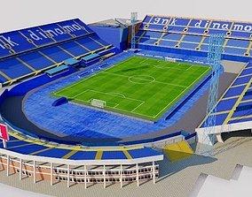 3D model Stadion Maksimir - Zagreb Croatia