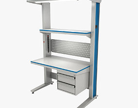 3D model working table