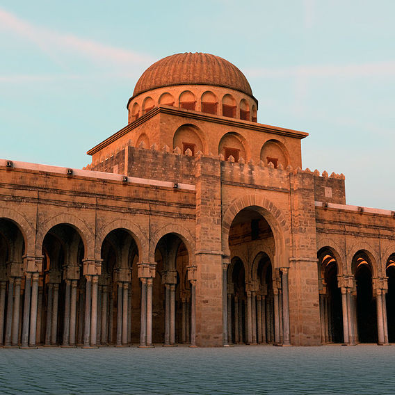 The Great Mosque of Kairouan