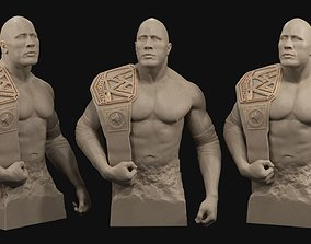 3D printable model Dwayne The Rock Johnson