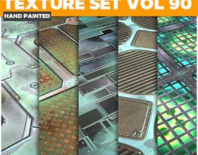3D asset Scifi Vol 90 - Game PBR Textures