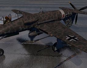 3D model Blohm und Voss Bv-P 193