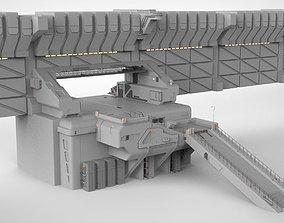 sci-fi Wall 1 3D