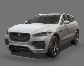 pace Jaguar F-Pace Low Poly 3D model