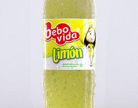3D 2L Plastic Bottle - Lemon