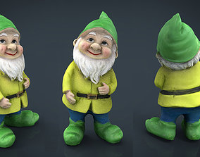 Garden Gnome 4 3D model home