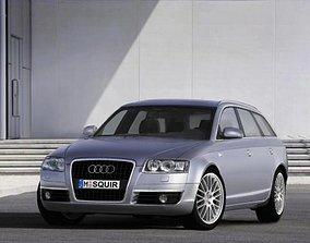 Audi A6 2006 Avant 3D