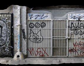 3D Back Street Alley Photogrammetry Scan