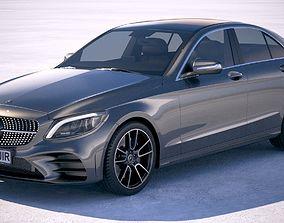 Mercedes C-class AMG 2019 3D