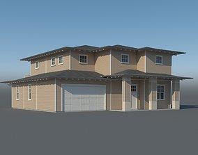 3D model Family House 007