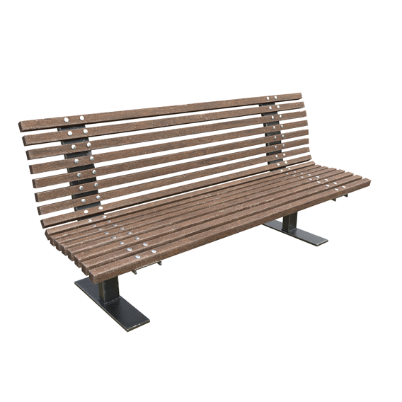 Park Bench Realistic