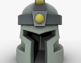 3D model Cartoon helmet casque