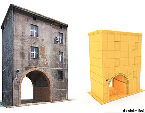 Apartment House 3D model realtime