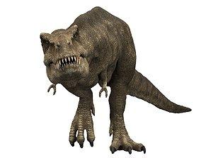 Tyrannosaurus rex 3D rigged tyrant