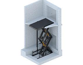 crane Lift Interbalt 5000kg 3D model