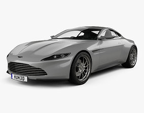 3D model Aston Martin DB10 with HQ interior 2015