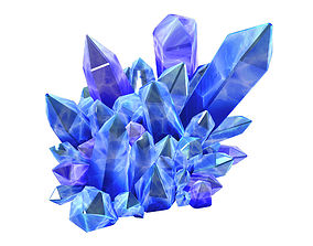 Legacy - Crystal Ore 03 3D model