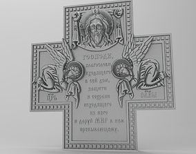 3D print model cross prayer of the one entering the house
