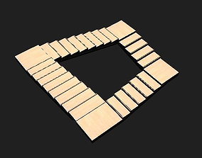 3D asset Penrose Stairs