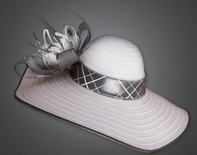Fancy Desiger Hat - HAT - PBR Game Ready 3D asset