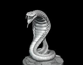 3D print model Snake sculpture symbol