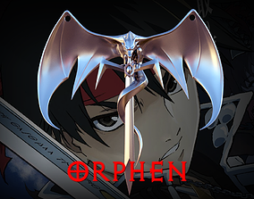 Necklace Orphen 3D print model