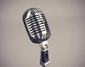 Classic Microphone 3D