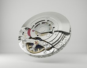 Rolex Watch movement -3135- 3D model tool
