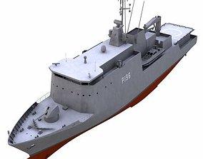 Offshore Patrol Vessel - 01 - 3D model