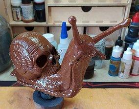 Skull Snail 3D printable model