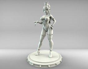 Bowsette Statue 3D printable model