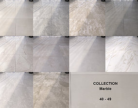 Marble Floor Set Collection 40 - 49 3D