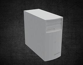 Computer - desktop computer for office 3D model