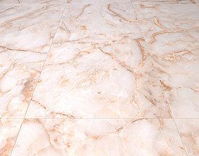Marble floor agata beige 3D model