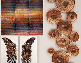 Copper collection for walls 1 3D