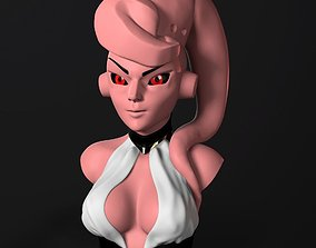 3D print model Bust - Female Majin