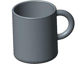 Simple Design Mug 3D printable model