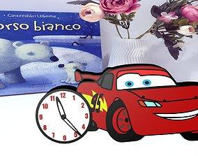 3D printable model Cars clock