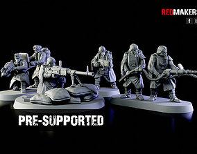 3D printable model Special weapons teams - Death Squad 3