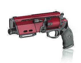 3D print model Duke Mk44 Legendary Hand Cannon