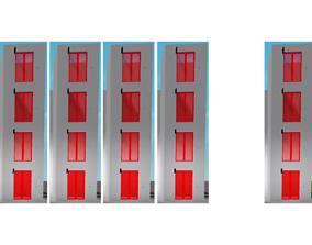 OTIS 550A Red Elevators 3D printable model