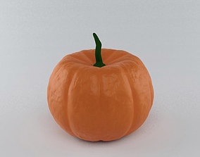 rigged Pumpkin 3D Model