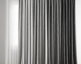 3D model Curtain 213
