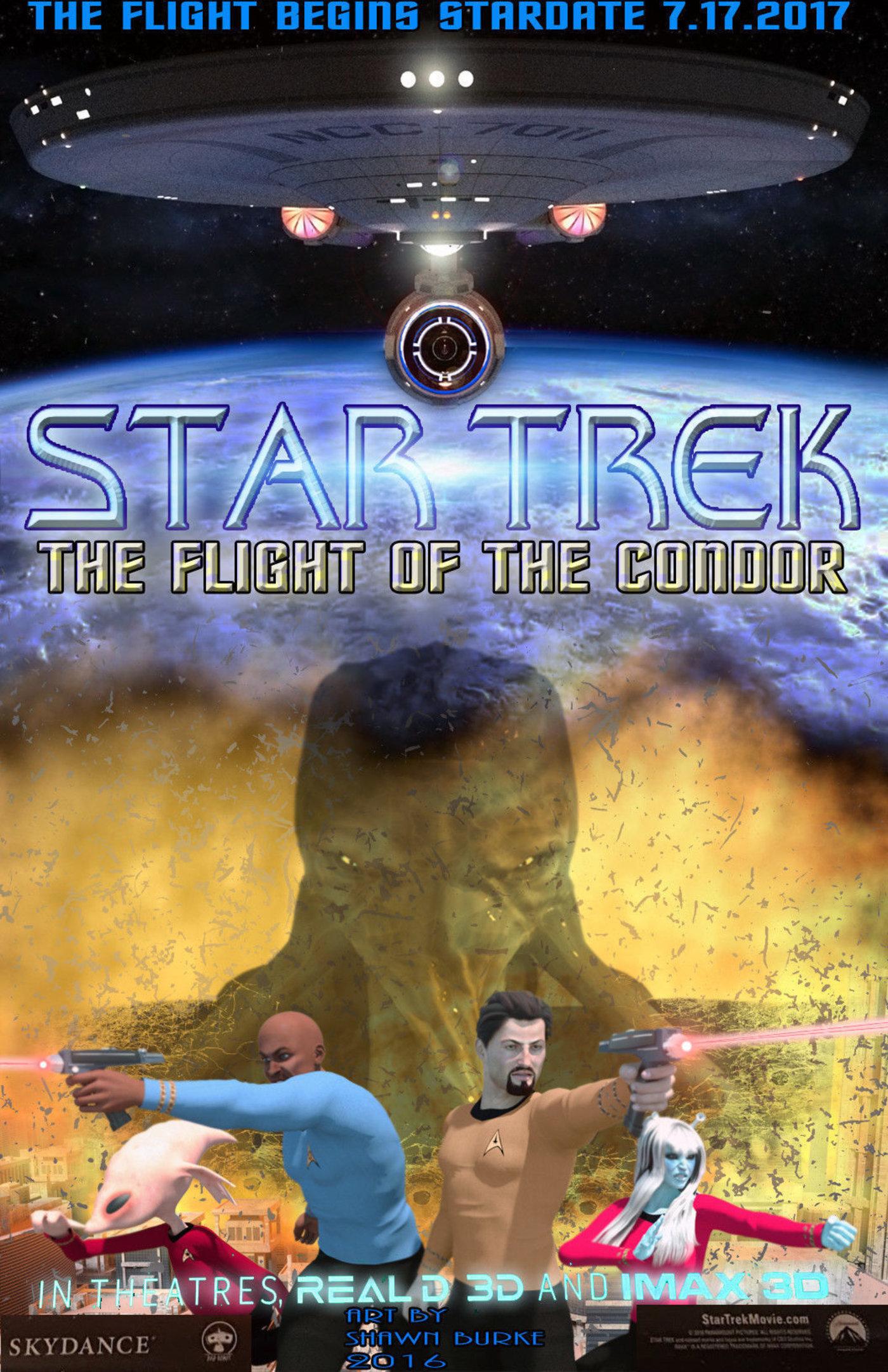 Flight Of The Condor Fake Film Poster