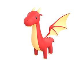 fantay Dragon Character 3D model