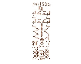 Crop Circle Message v1 001 3D model