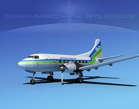 3D model Martin 202 Air Florida Commuter