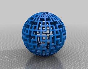 3D printable model Cubical Sphere