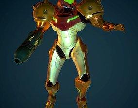 Samus - Varia Suit 3D asset